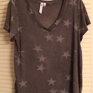 A soft distressed T-shirt..NWOT